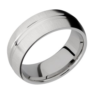 Lashbrook 8DD Titanium Wedding Ring or Band