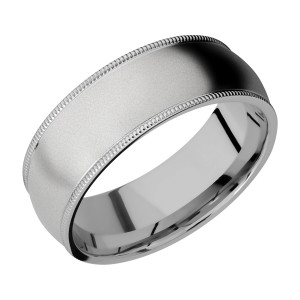Lashbrook 8DMIL Titanium Wedding Ring or Band