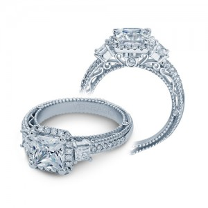 Verragio Venetian-5063P Platinum Engagement Ring