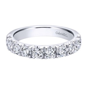 Gabriel 18 Karat Contemporary Wedding Band WB11986R8W83JJ