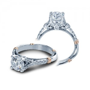 Verragio Parisian-126R Platinum Engagement Ring