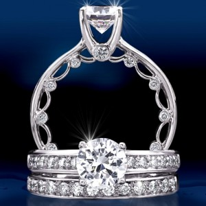 Verragio Platinum Paradiso Wedding Band PAR-3042 W