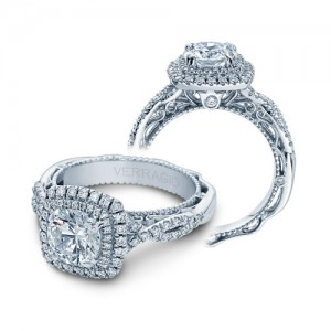 Verragio Venetian-5048CU Platinum Engagement Ring