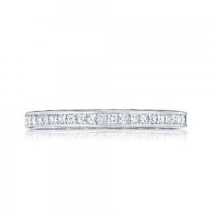 301-25 Tacori Platinum Starlit Diamond Wedding Ring