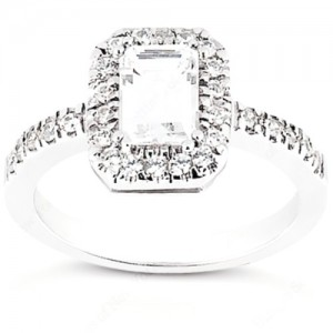 Taryn Collection Platinum Diamond Engagement Ring TQD 105