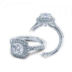 Verragio Couture-0425DCU 14 Karat Engagement Ring