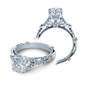 Verragio Parisian-DL102 Platinum Engagement Ring