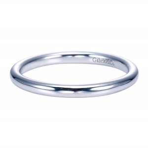 Gabriel Platinum Contemporary Wedding Band WB7721PTJJJ