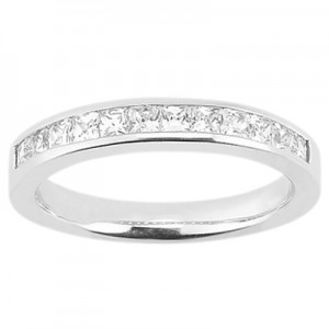 Taryn Collection Platinum Wedding Ring TQD B-0871
