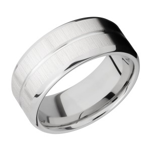 Lashbrook 9B11U Titanium Wedding Ring or Band