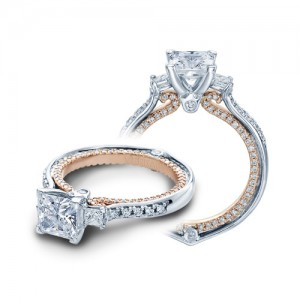 Verragio Couture-0422DP-TT 14 Karat Engagement Ring