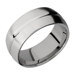 Lashbrook 9DC Titanium Wedding Ring or Band