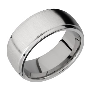 Lashbrook 9DGE Titanium Wedding Ring or Band