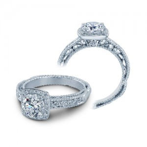 Verragio Venetian-5004 Platinum Engagement Ring