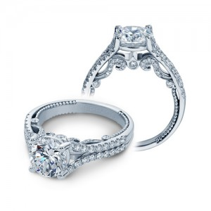 Verragio Insignia-7063RL Platinum Engagement Ring