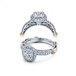 Verragio Parisian-123R Platinum Engagement Ring