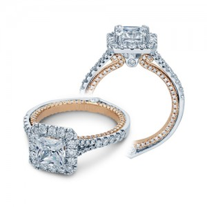 Verragio Couture-0434P-TT 14 Karat Engagement Ring