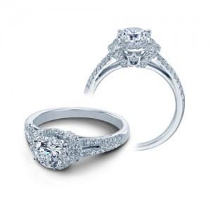Verragio Platinum Couture Engagement Ring Couture-0381