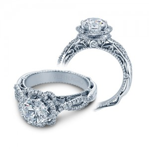 Verragio Venetian-5051R Platinum Engagement Ring