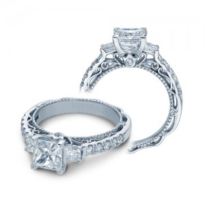 Verragio Venetian-5058P Platinum Engagement Ring