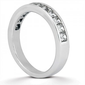 Taryn Collection Platinum Wedding Ring TQD B-5341