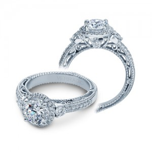Verragio Venetian-5063R Platinum Engagement Ring
