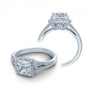 Verragio Platinum Couture Engagement Ring Couture-0381P