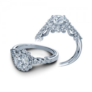 Verragio Insignia-7079R Platinum Engagement Ring