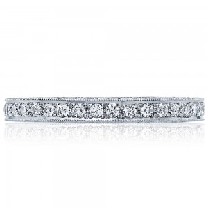 Tacori HT2516B 18 Karat Blooming Beauties Diamond Wedding Band
