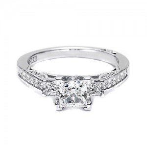 Tacori 2636PR5 18 Karat Simply Tacori Engagement Ring
