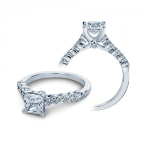 Verragio Platinum Couture Engagement Ring Couture-0410 S P