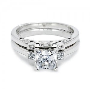 Tacori 2605B Platinum Wedding Band