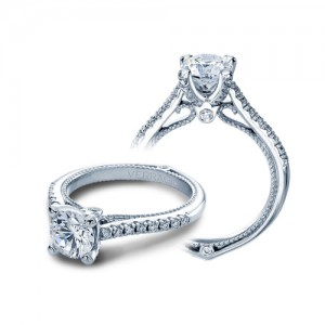 Verragio Couture-0415R Platinum Engagement Ring