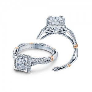 Verragio Parisian-106P Platinum Engagement Ring