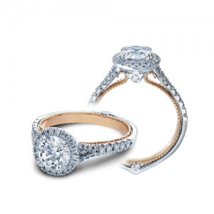 Verragio Couture-0424R-TT 14 Karat Engagement Ring