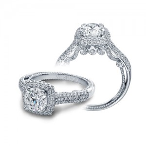 Verragio Insignia-7085CU Platinum Engagement Ring