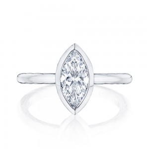 300-2MQ11X55 Platinum Tacori Starlit Engagement Ring
