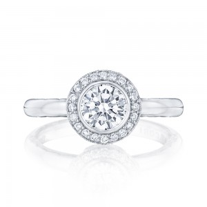 303-25RD6 Platinum Tacori Starlit Engagement Ring