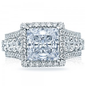 Tacori HT2613PR85 18 Karat RoyalT Engagement Ring