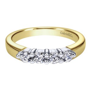 Gabriel 14 Karat Contemporary Wedding Band WB2790M43JJ