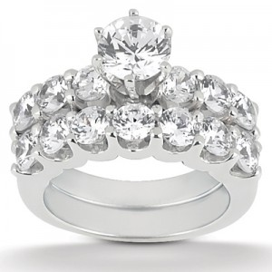 Taryn Collection Platinum Diamond Engagement Ring TQD A-721
