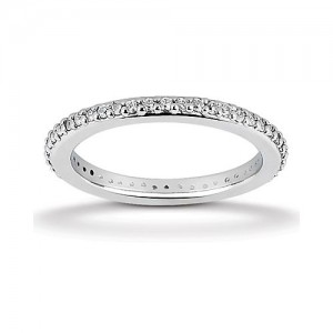 Eternity Diamond Band 14 Karat Taryn Collection TQD 6-1-054