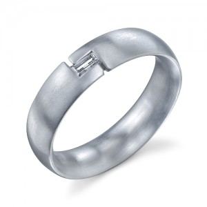 240991 Christian Bauer Platinum Diamond  Wedding Ring / Band