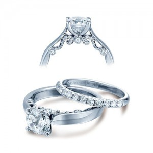 Verragio Platinum Insignia Engagement Ring INS-7022
