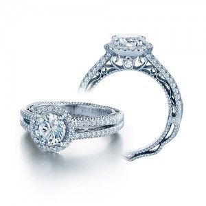 Verragio Venetian-5007R Platinum Engagement Ring