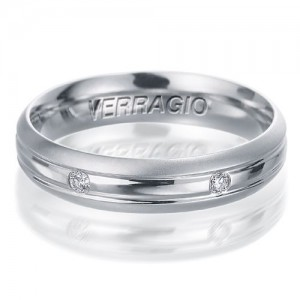 Verragio Platinum Diamond Wedding Band VWD-5915