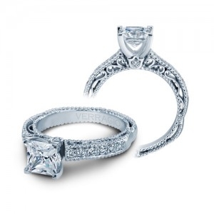 Verragio Venetian-5001P Platinum Engagement Ring