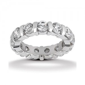 Eternity Diamond Band Platinum Taryn Collection TQD 6-223