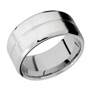 Lashbrook CC10B11U Cobalt Chrome Wedding Ring or Band