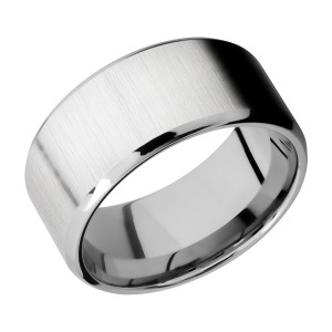 Lashbrook CC10B Cobalt Chrome Wedding Ring or Band